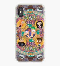 Phineas and Ferb Mandala iPhone Case