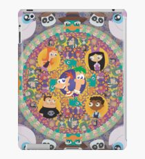 Phineas and Ferb Mandala iPad Case/Skin