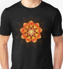 Abstract Orange Flower ( Abstract Flowers ) Unisex T-Shirt