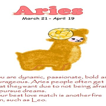Aries Personality Gift by KawaiiNMore