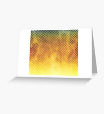 Dragon Scales Leggings Greeting Card