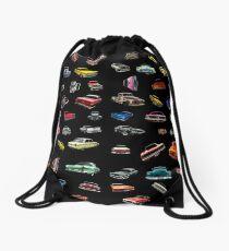 Car Chase Volume 2 Drawstring Bag