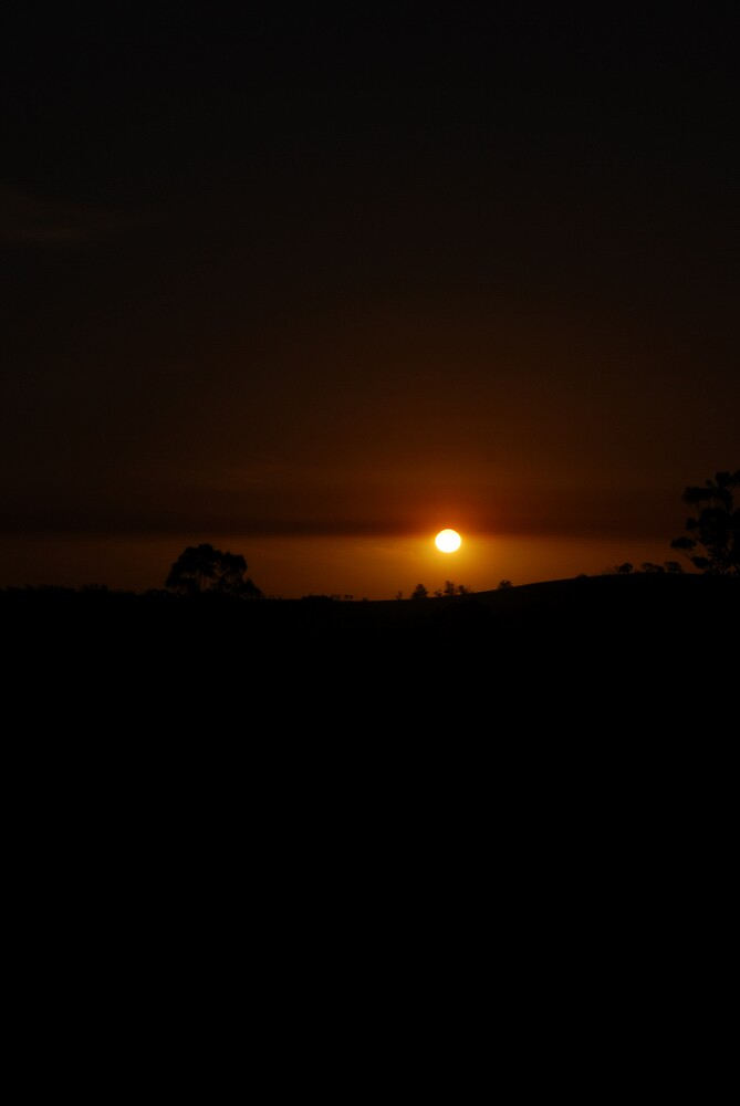 Mernda Sunset by xeba