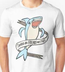 dear premier barnett: sharks are friends, not foes Unisex T-Shirt