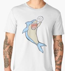 the 'have a lovely day' shark Men's Premium T-Shirt