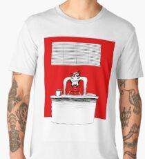 Colour challenge- Detective Red Men's Premium T-Shirt