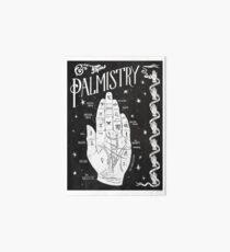 Handlesen // Handkarte Galeriedruck