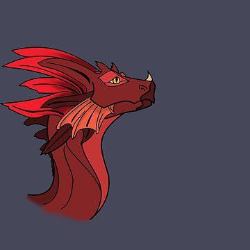 Red Dragon by AquaMarine21
