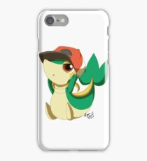 Snivy's Hat  iPhone Case/Skin