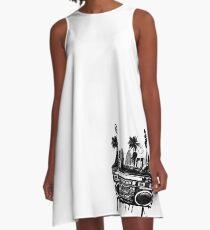 ghetto A-Line Dress