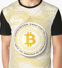 Eat Sleep Bitcoin Graphic T-Shirt