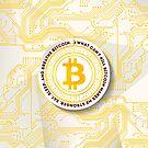 Eat Sleep Bitcoin by OptimisMe