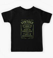 Green Vintage Limited 2005 Edition - 13th Birthday Gift (2018 Birthday Version) Kids Tee
