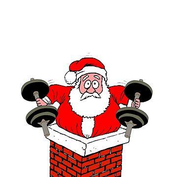 No Lifts, No Gifts! Santa Christmas Graphic by BudinInnovation