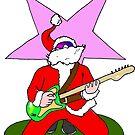 Rock Santa by doctorbear