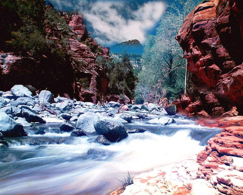 Slide Rock by steveberlin