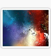 Bright Colorful Background ( Abstract ) Sticker