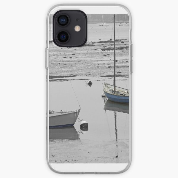 Two Boats at Low Tide iPhone Soft Case