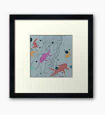 Under Water Framed Print