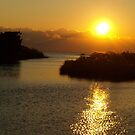 THURSDAY'S SUNSET by Sharon A. Henson