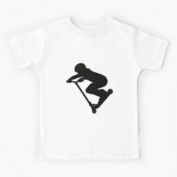 Scooter Boy 5B (no shadow) Stunt Scooter Kids T-Shirt