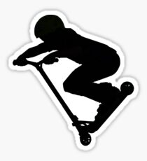 Scooter Boy 5B (no shadow) Stunt Scooter Sticker