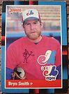 350 - Bryn Smith by Foob's Baseball Cards