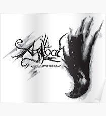 Agalloch - Asche gegen das Korn v1 Poster