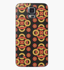 Circular vintage pattern by Christopher Dresser – State Library Victoria Case/Skin for Samsung Galaxy