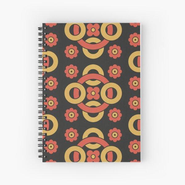 Circular vintage pattern by Christopher Dresser – State Library Victoria Spiral Notebook