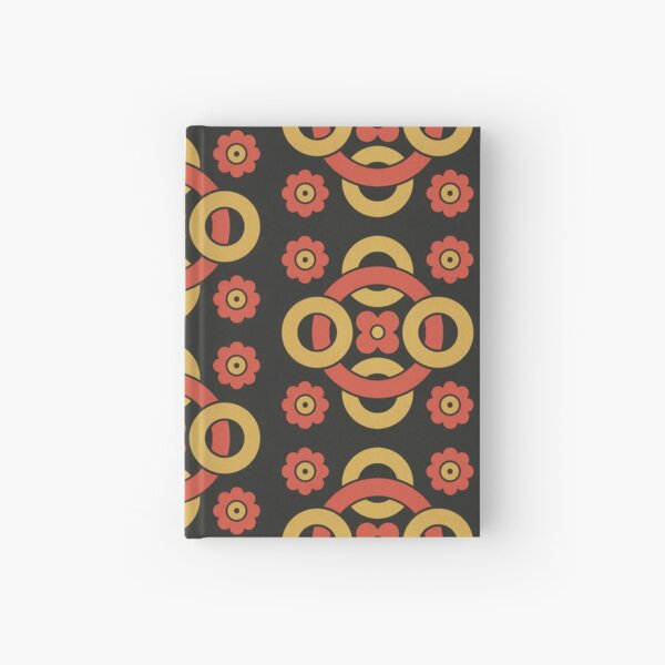 Circular vintage pattern by Christopher Dresser – State Library Victoria Hardcover Journal