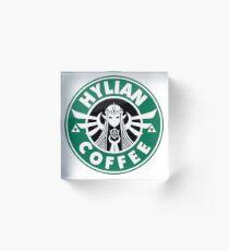 Hylian Coffee Acrylic Block