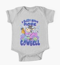 More Cowbell One Piece - Short Sleeve