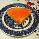 Mouth Watering Mandarin Orange Cheesecake by MidnightMelody