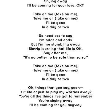 A-ha - Take on Me by Albertcetopac