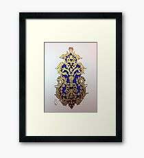 Navy Miniatures Framed Print