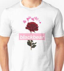 Blackbear hearts Rose Design Unisex T-Shirt