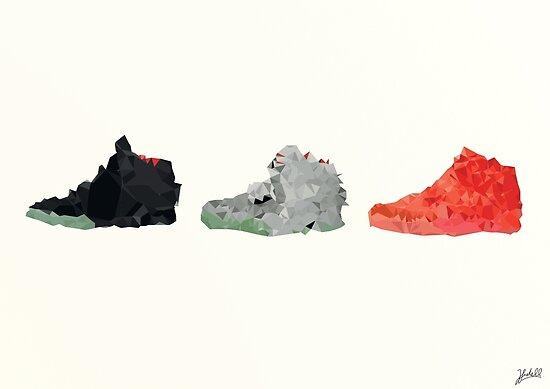 Nike Yeezy 2 Poster von Fidell