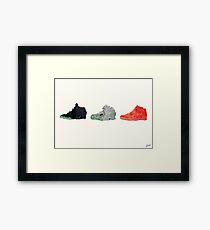 Nike Yeezy 2 Poster Framed Print