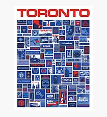 Totally Toronto Poster and T Shirt Photographic Print