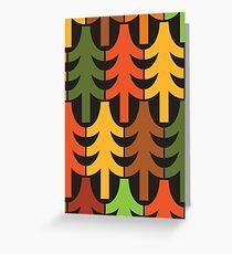 Tannenbäume! Grußkarte