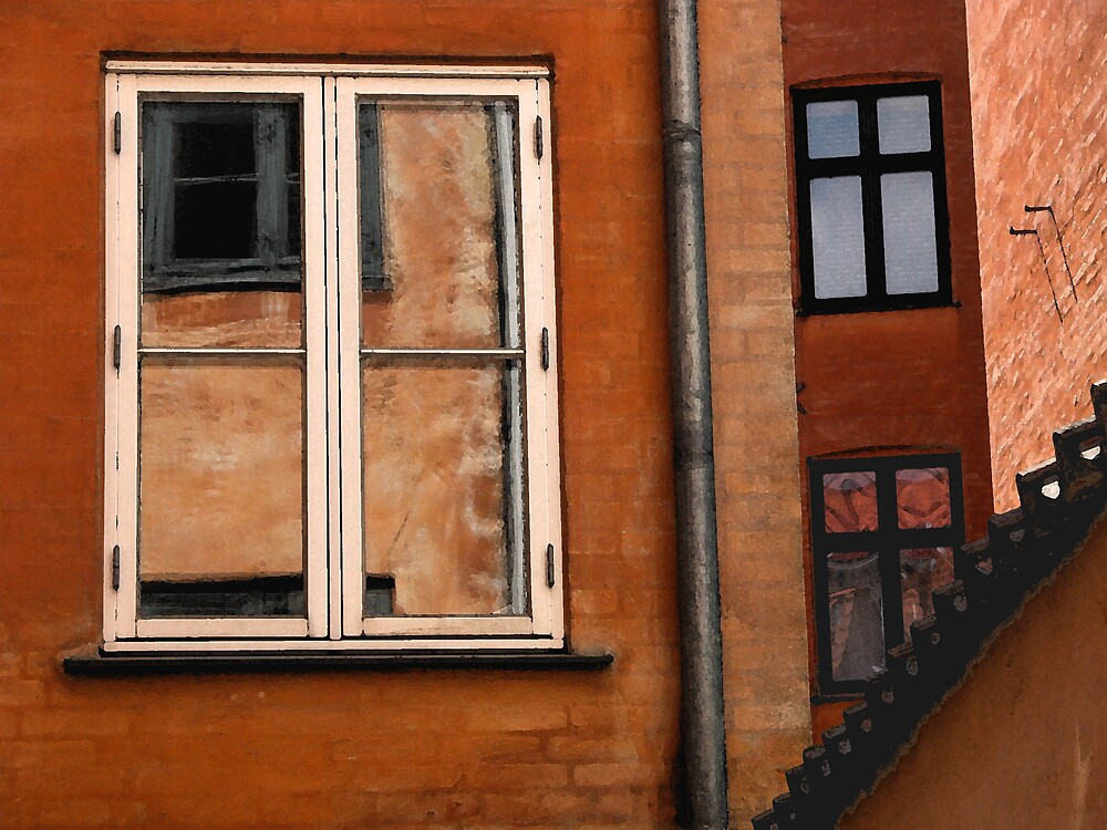 Copenhagen Window by Virginia Maguire
