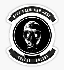 Slav Gas Mask  Sticker