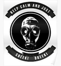 Slav Gas Mask  Poster