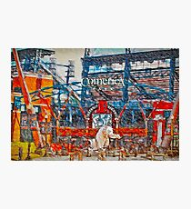 Sunny Day.  Comerica Park.  Perfect. Photographic Print