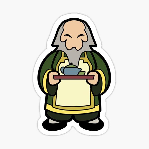 Tea Master Iroh Sticker