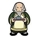 Tea Master Iroh by Joumana Medlej