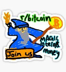 Bitcoin Magic Internet Money Reddit Sticker
