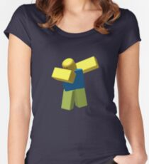 [1# Best Seller] Roblox Dab Women's Fitted Scoop T-Shirt