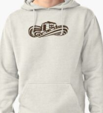 Colombian Sombrero Vueltiao (Coffee Bean Drawing) Pullover Hoodie